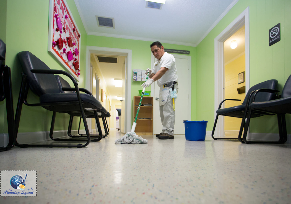 commercial house cleaning