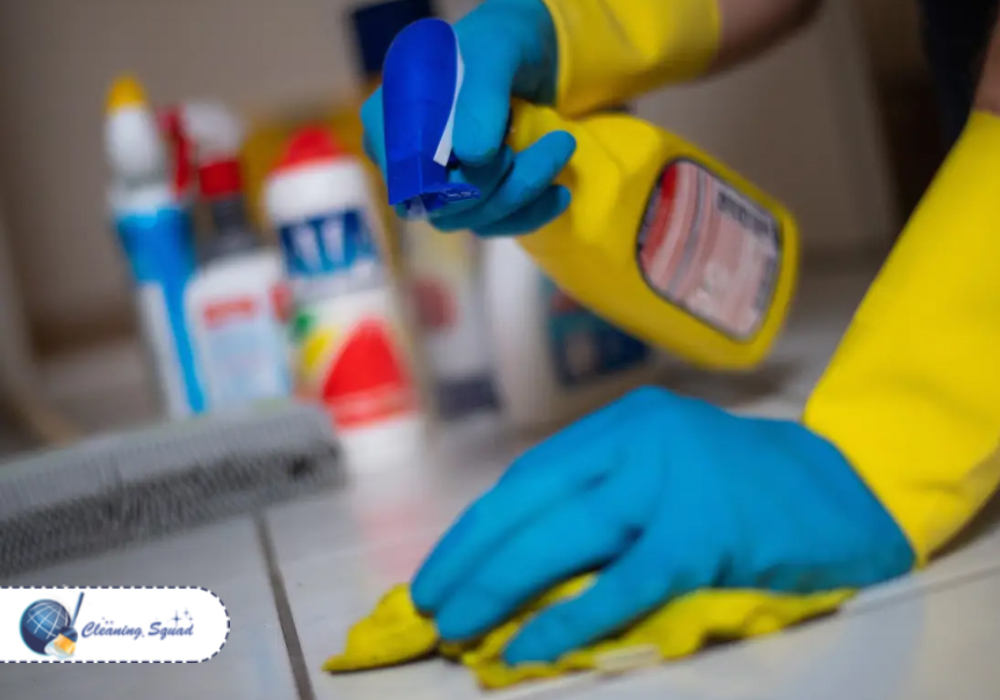Cleaning and Disinfection from the same platform